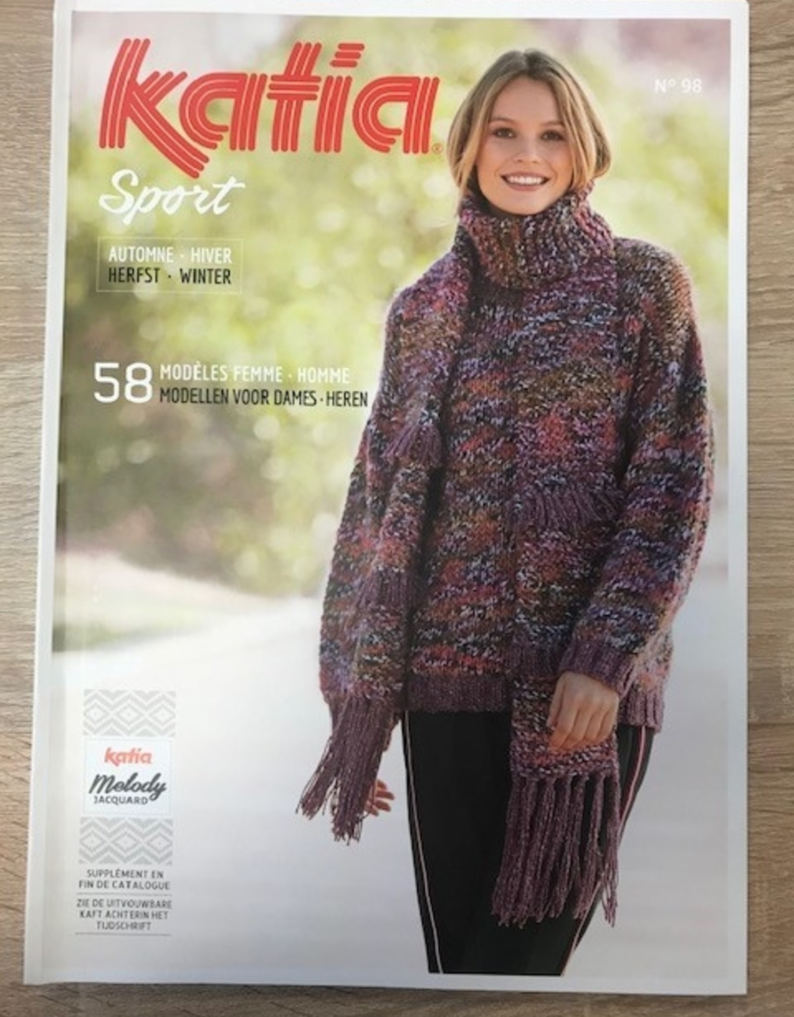 Magazine katia winter Nr 98