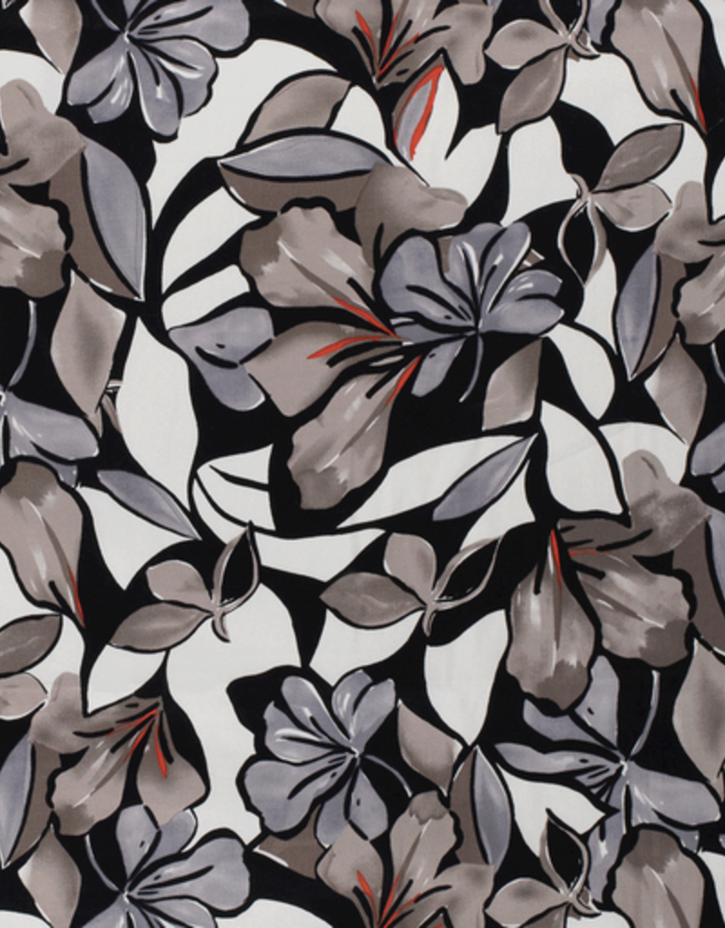 Cotton Satinflowers taupe