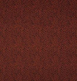 Qjutie Tricot katoen leopard rust