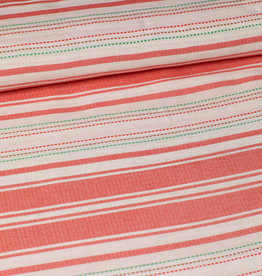 viscose mix stripes