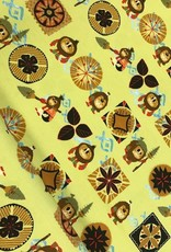 Swafing Tricot katoen Vaiana Disney geel