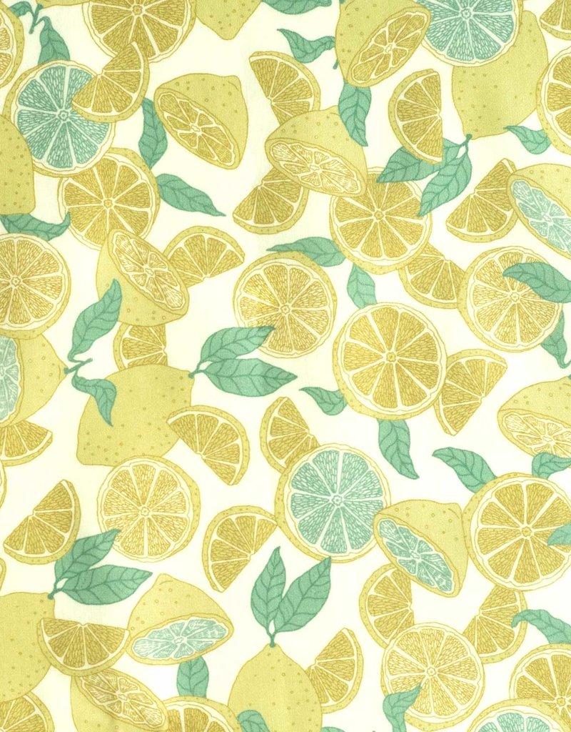 Katia Poplin Summer Lemonade