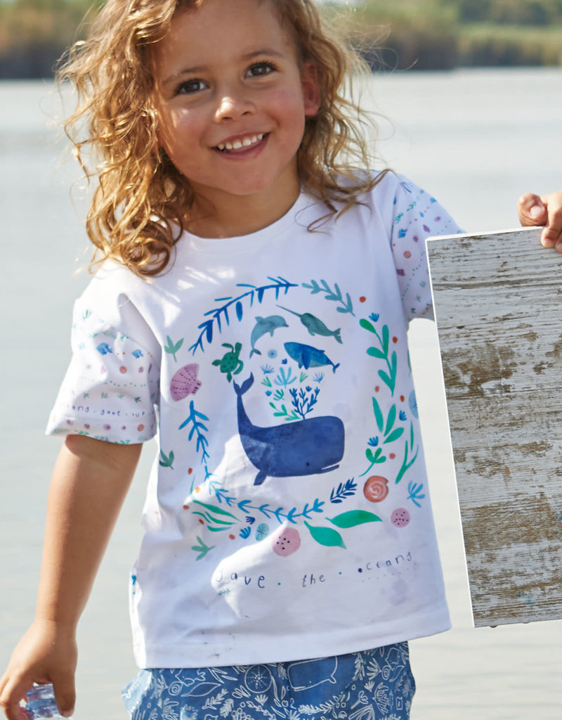Katia Tricot katoen panel under the sea T-shirt