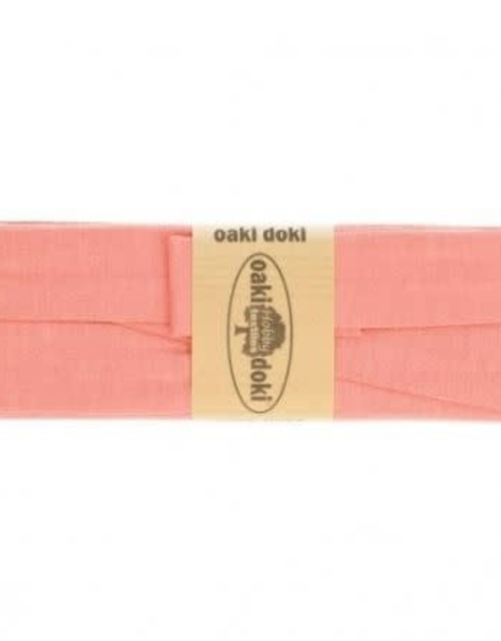 Oaki Doki Biais tricot de luxe Oaki Doki  zalm 133