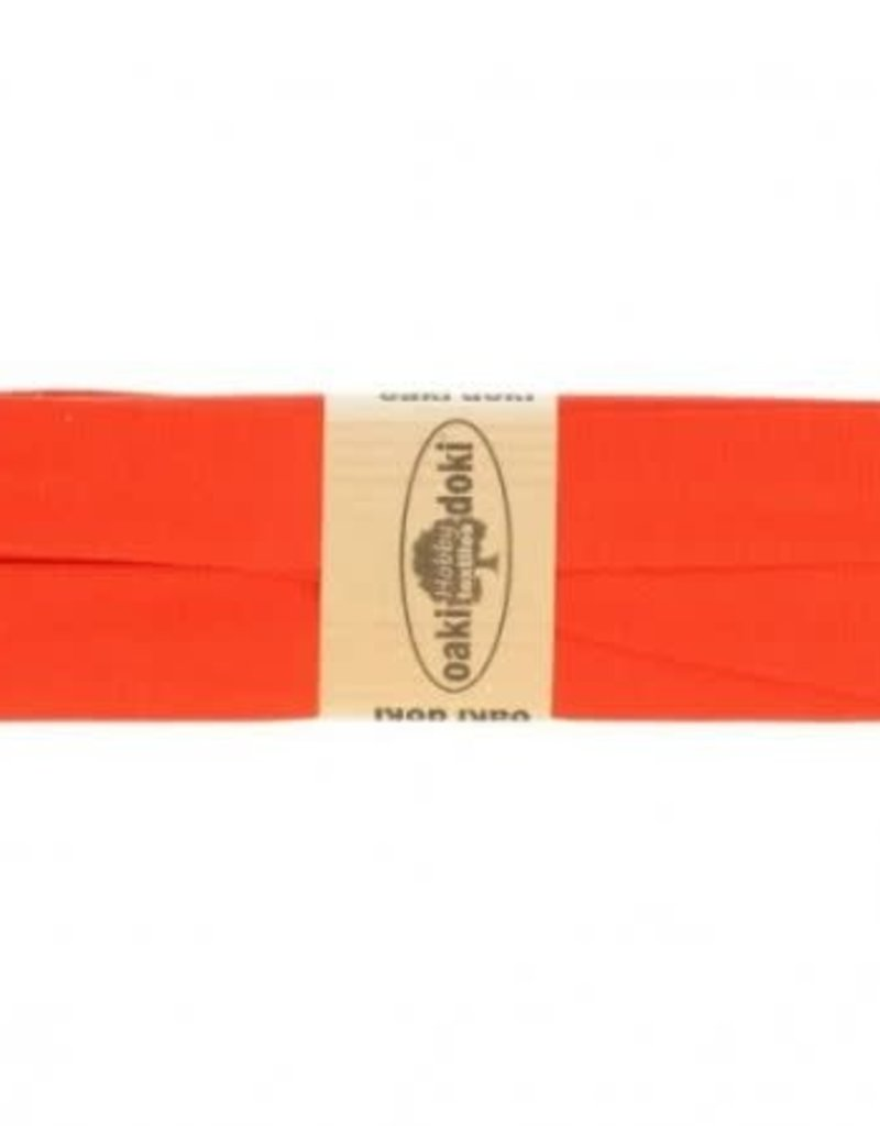 Biais tricot de luxe Oaki Doki  oranje 935