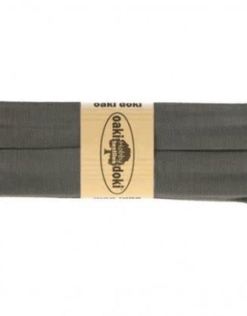 Biais tricot de luxe Oaki Doki d. grijs 115