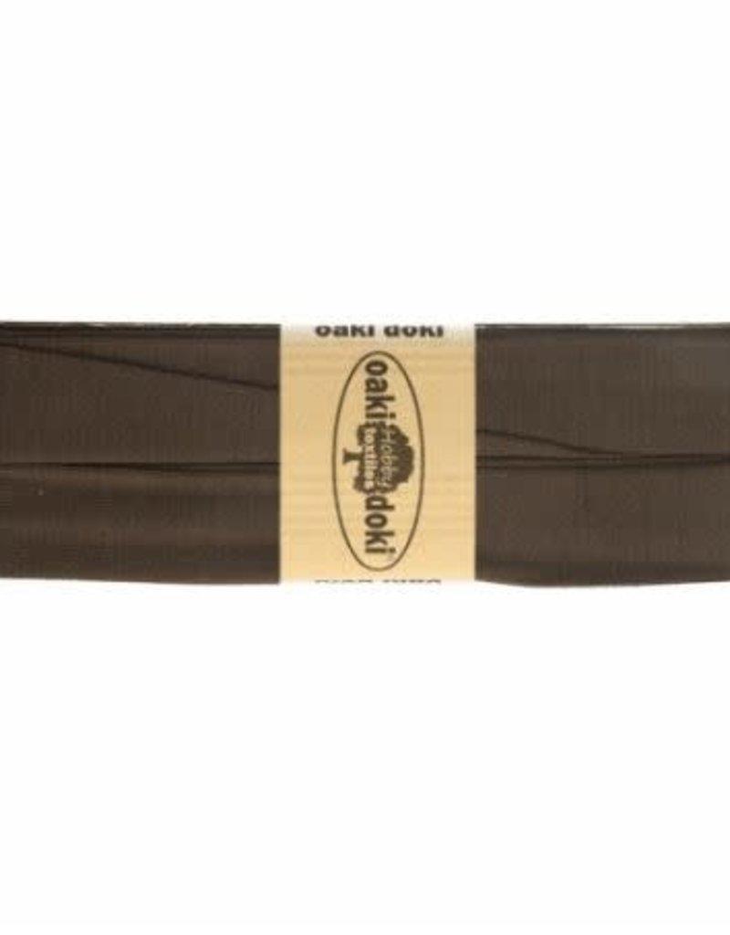 Oaki Doki Biais tricot de luxe Oaki Doki donker bruin 500