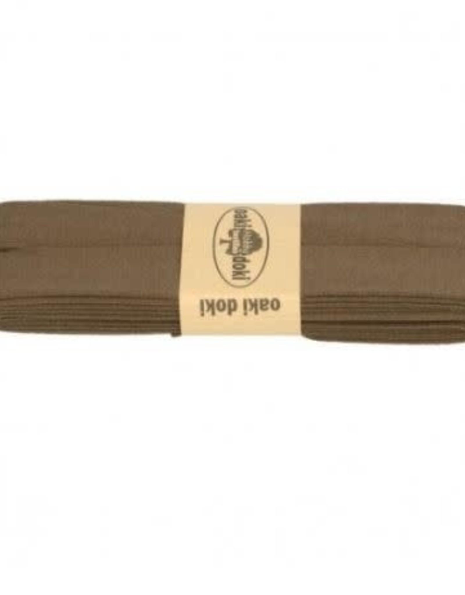 Oaki Doki Biais tricot de luxe Oaki Doki bruin 543