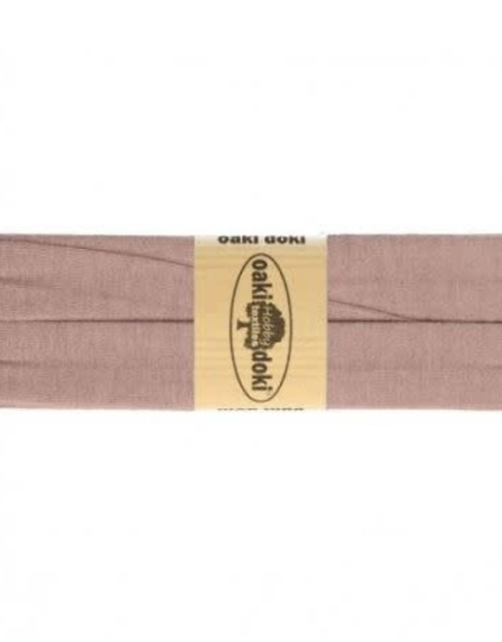Oaki Doki Biais tricot de luxe Oaki Doki oud roze 013