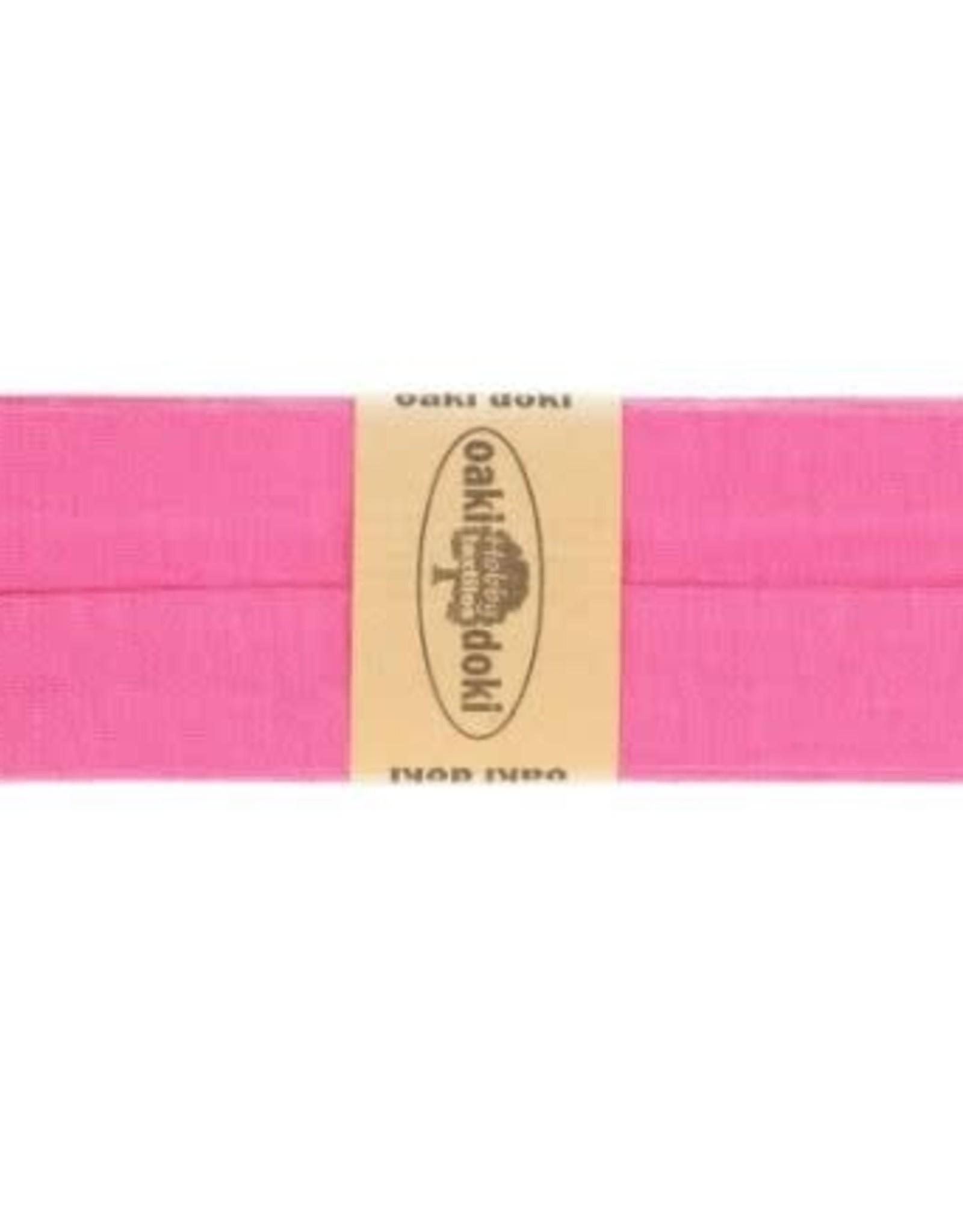 Biais tricot de luxe Oaki Doki roze 017