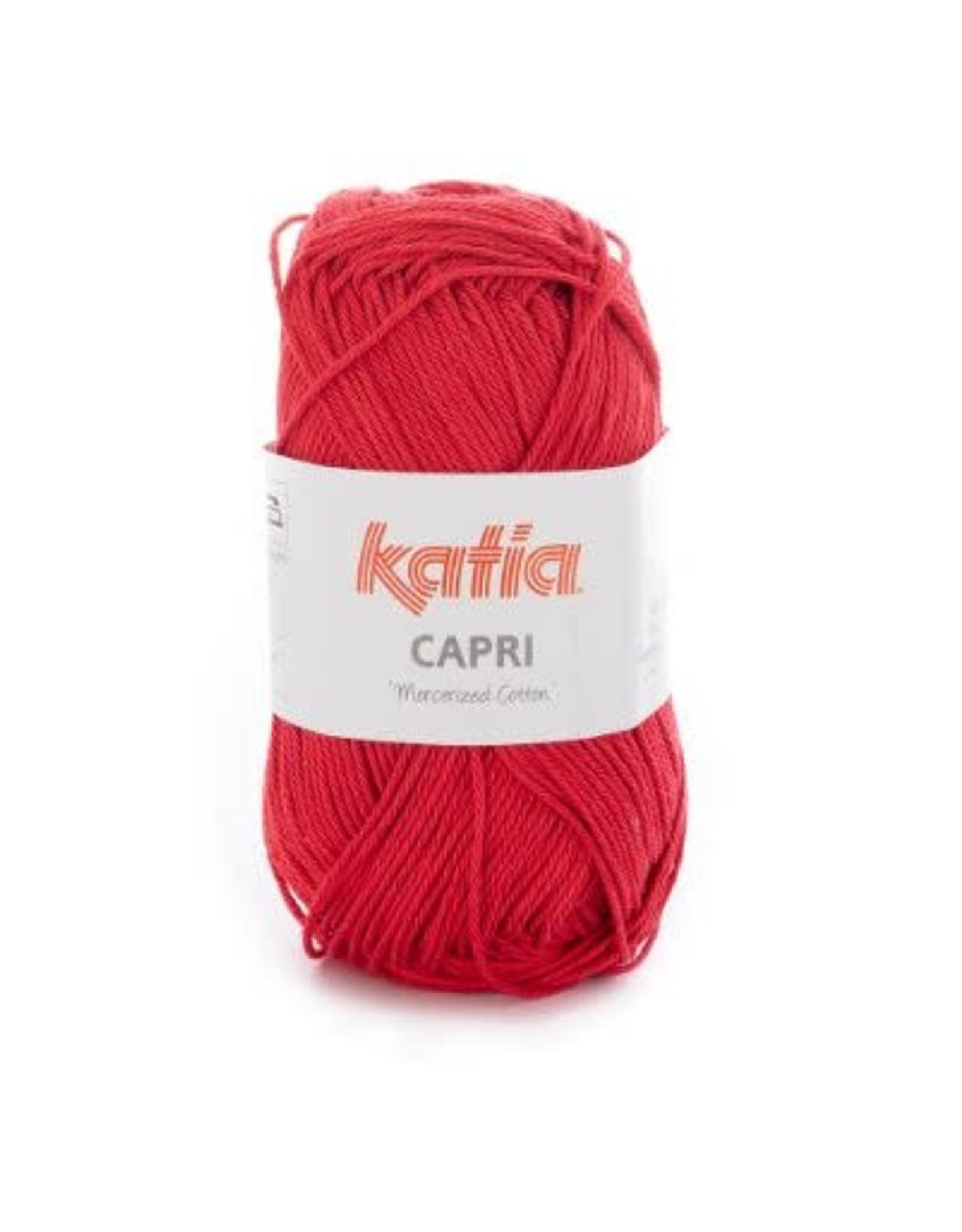 Katia Garen Capri katoen 82059 rood
