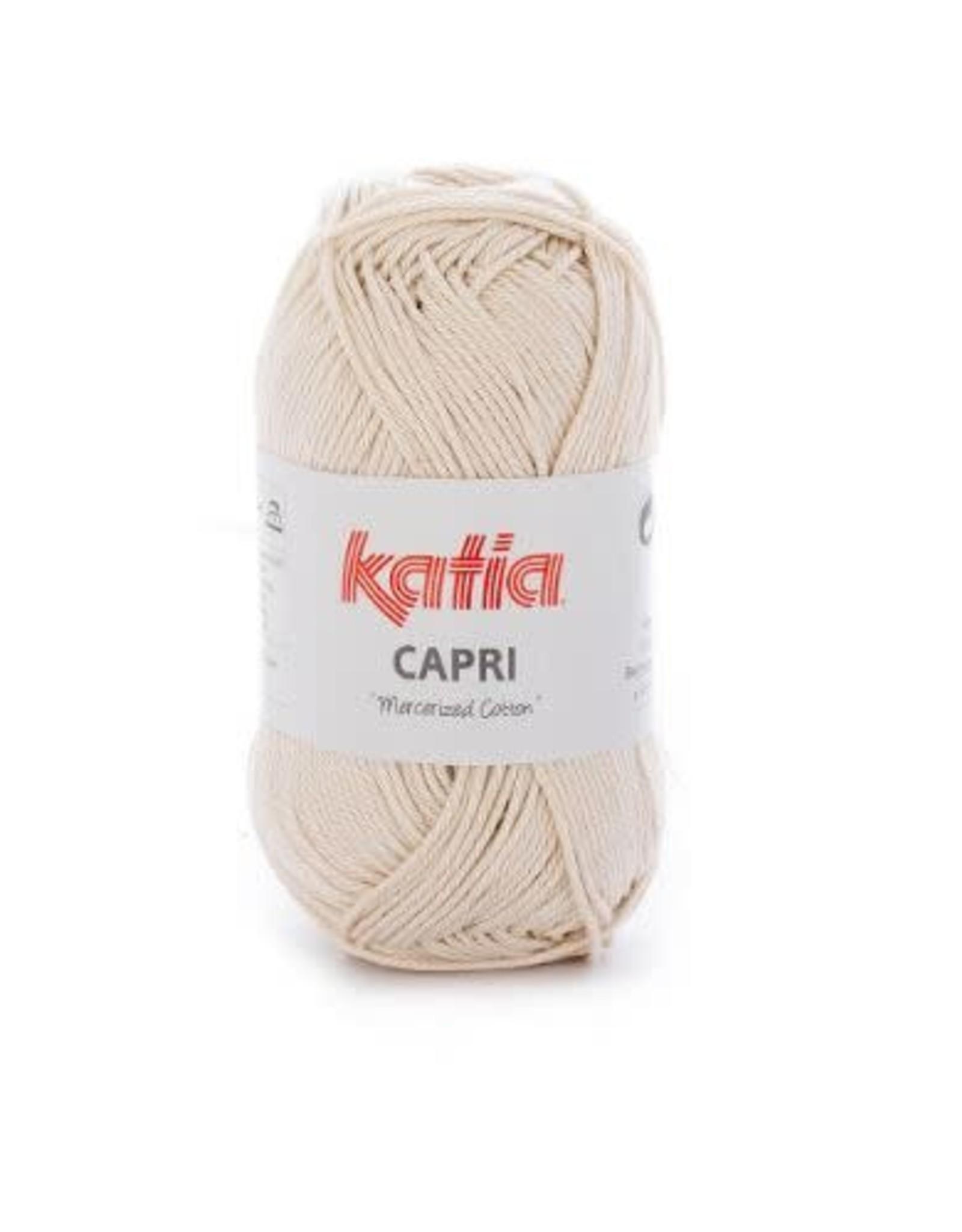 Katia Garen Capri katoen 82141 zeer licht beige