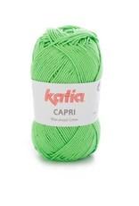Katia Garen Capri katoen 82149 brilliantgroen