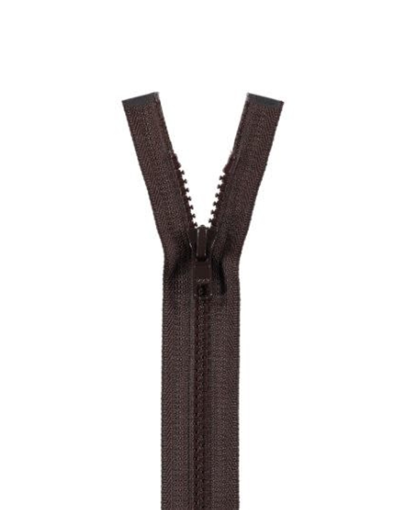 YKK BLOKRITS 5 DEELBAAR bruin 570-45cm