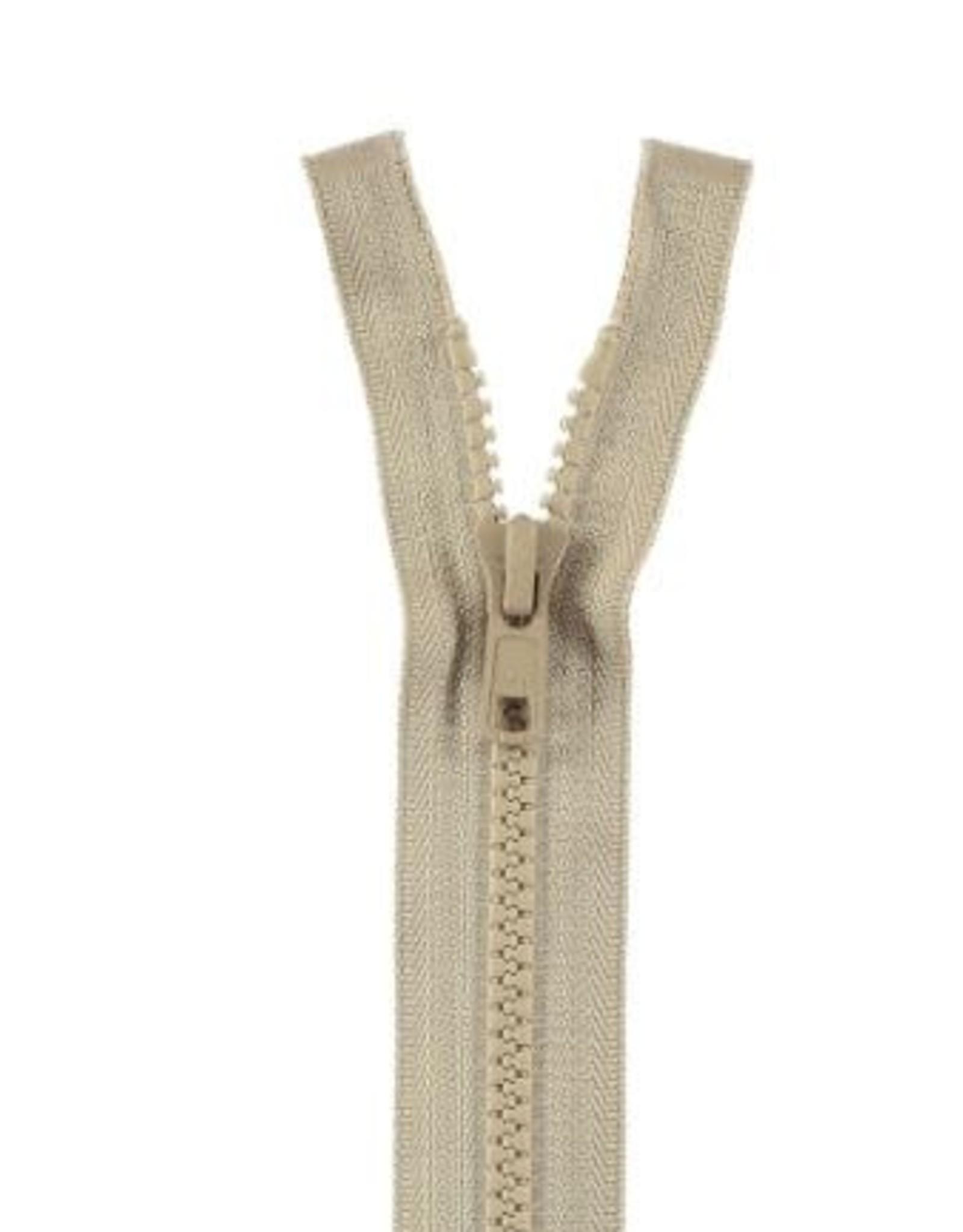 YKK BLOKRITS 5 DEELBAAR beige 573-30cm