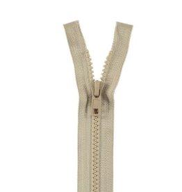 YKK BLOKRITS 5 DEELBAAR beige 573-40cm