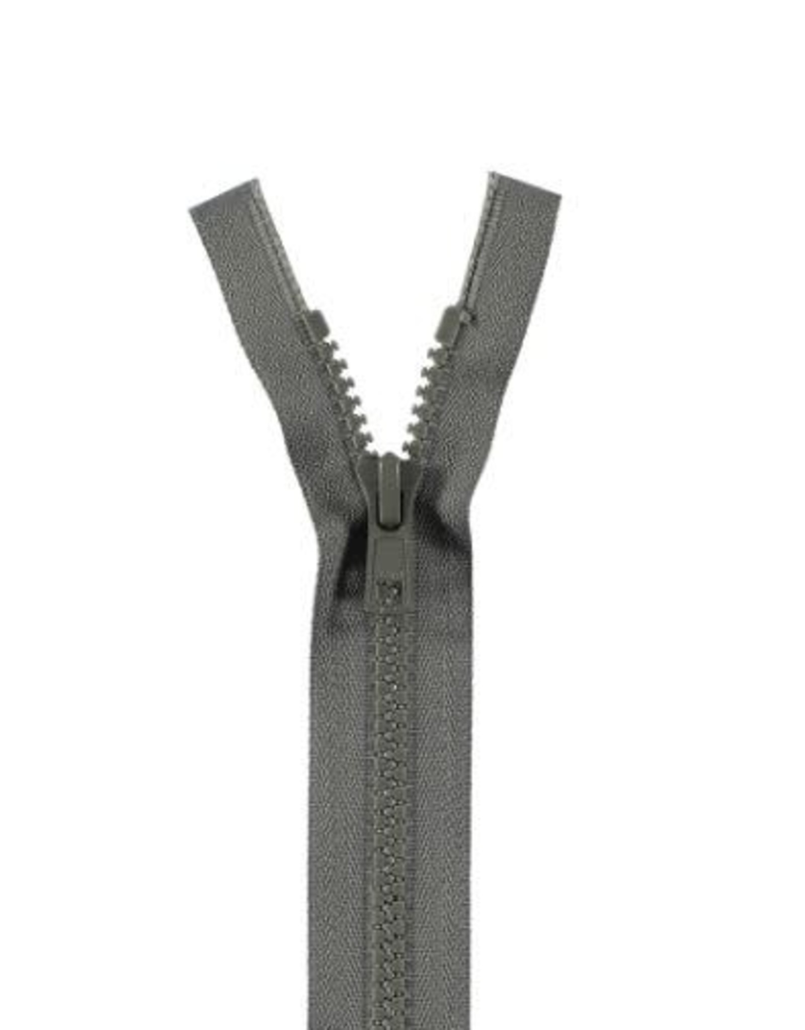 YKK BLOKRITS 5 DEELBAAR grijs 578-30cm