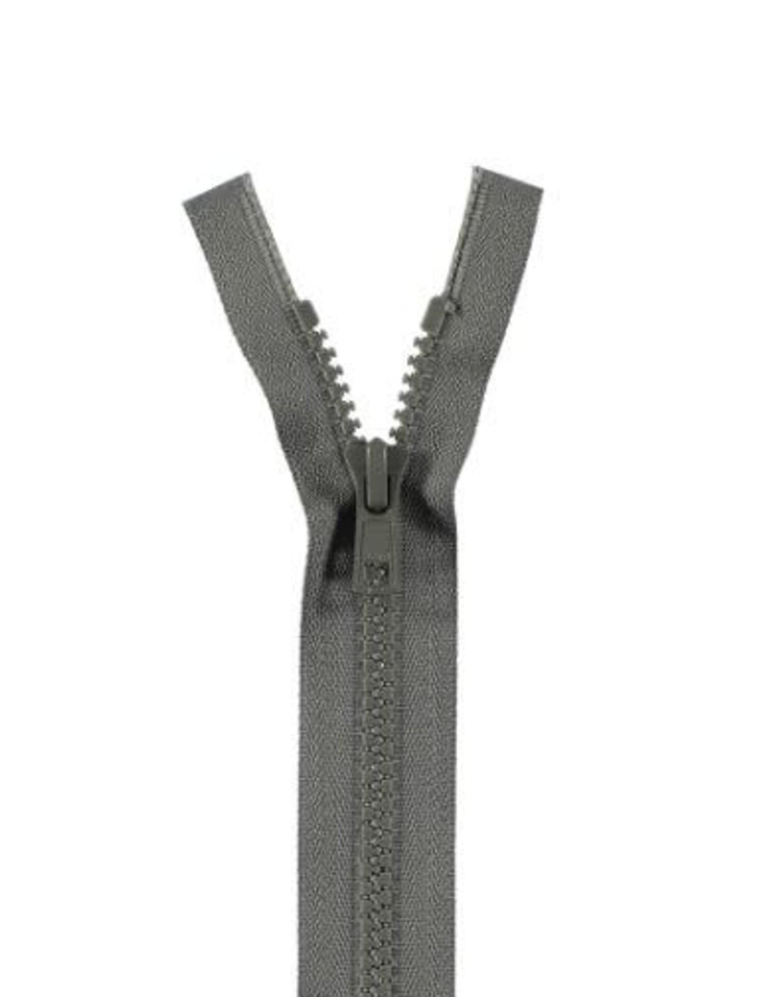YKK BLOKRITS 5 DEELBAAR grijs 578-70cm