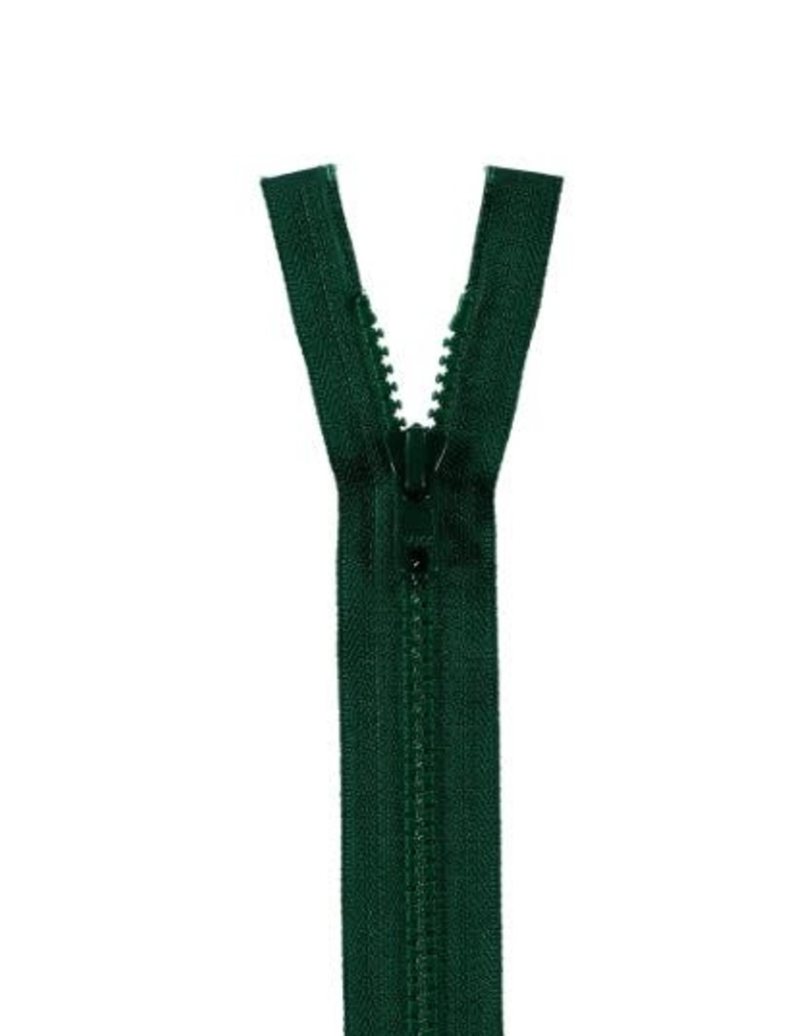 YKK BLOKRITS 5 DEELBAAR d. groen 890-40cm