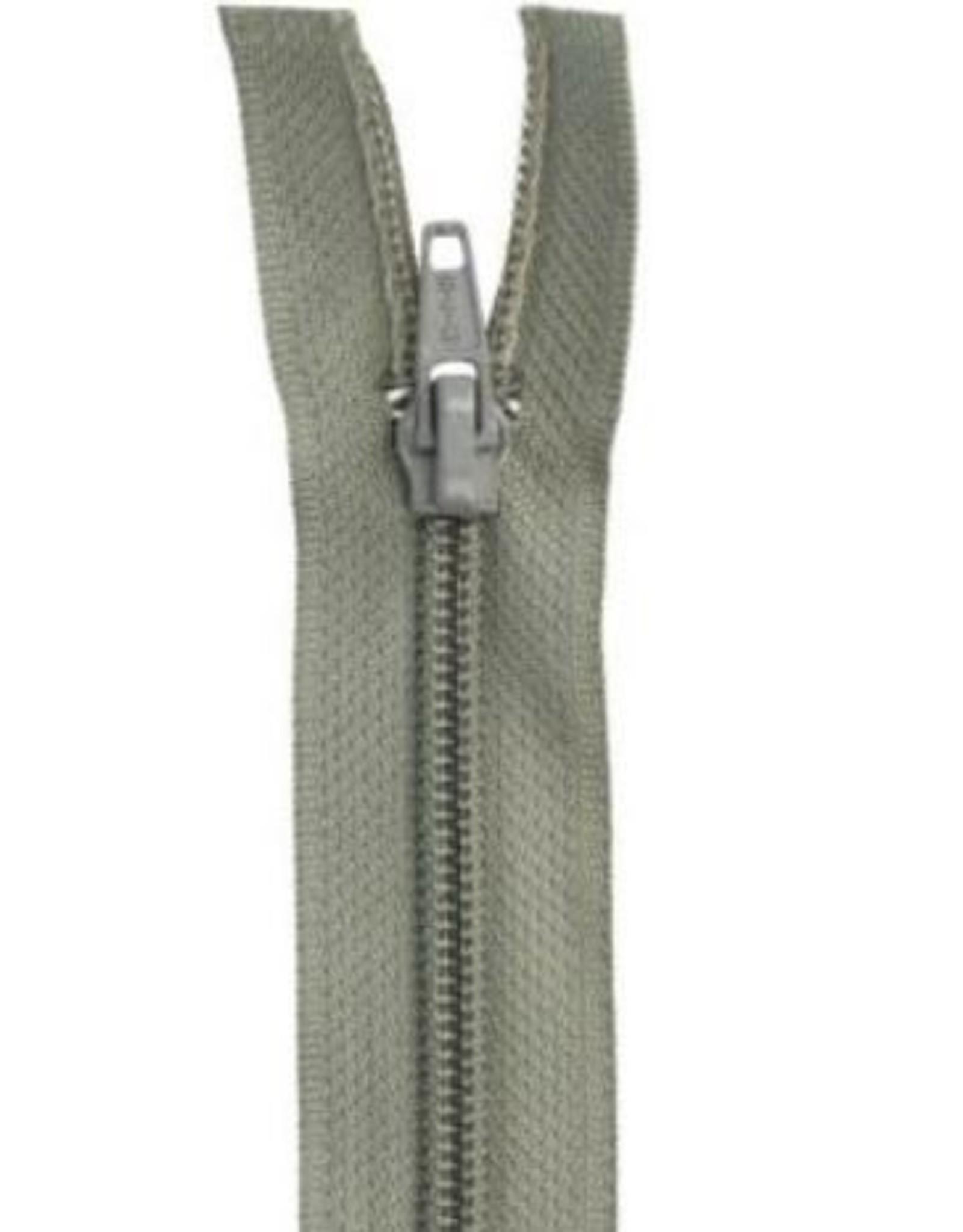 YKK Spiraalrits niet-DB 3mm grijs 013-18cm