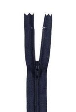 YKK Spiraalrits niet-DB 3mm d. blauw gr 168-18cm