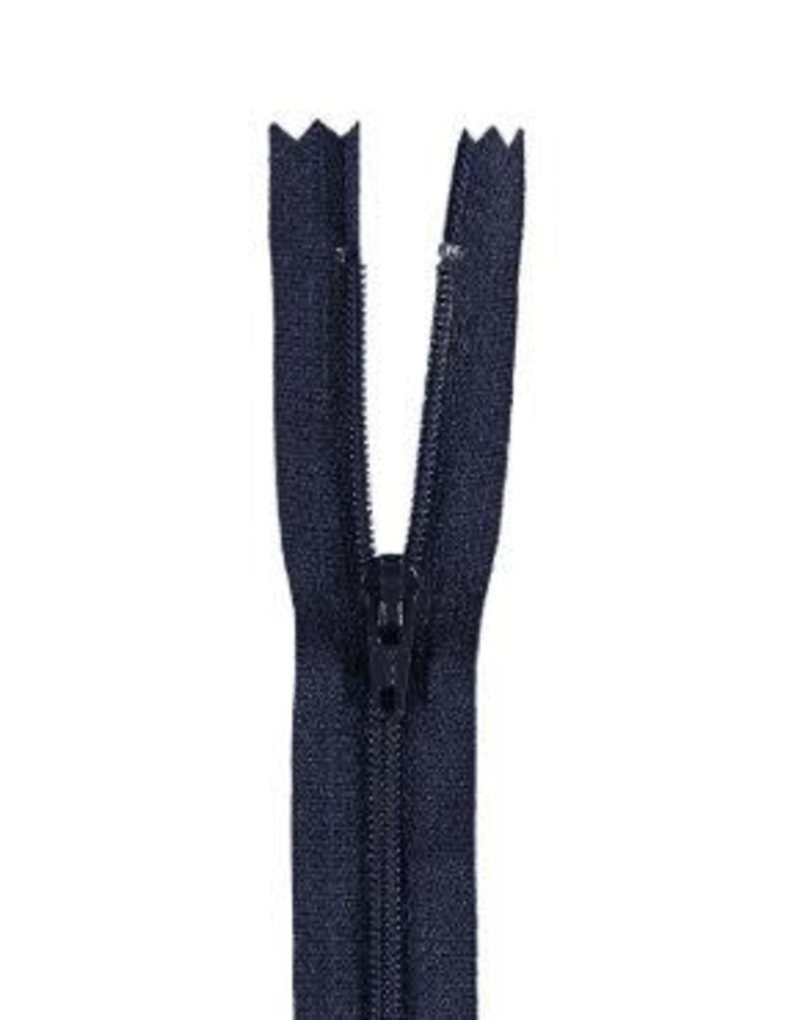 YKK Spiraalrits niet-DB 3mm d. blauw gr 168-25cm