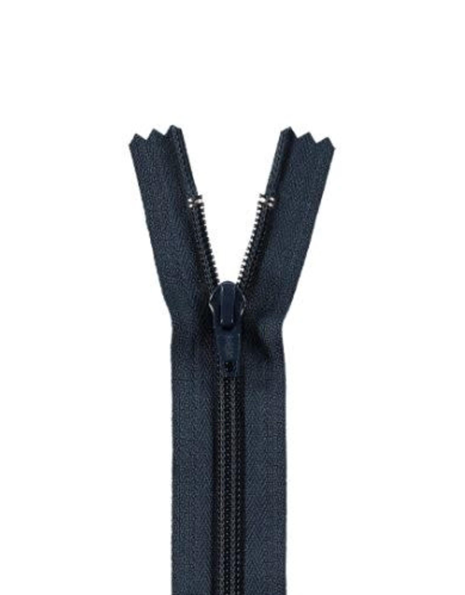 YKK Spiraalrits niet-DB 3mm d. blauw 560-15cm