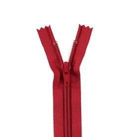 YKK Spiraalrits niet-DB 3mm rood 519-55cm
