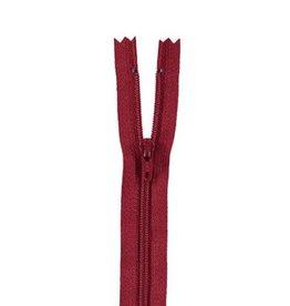 YKK Spiraalrits niet-DB 3mm donker rood 520-30cm