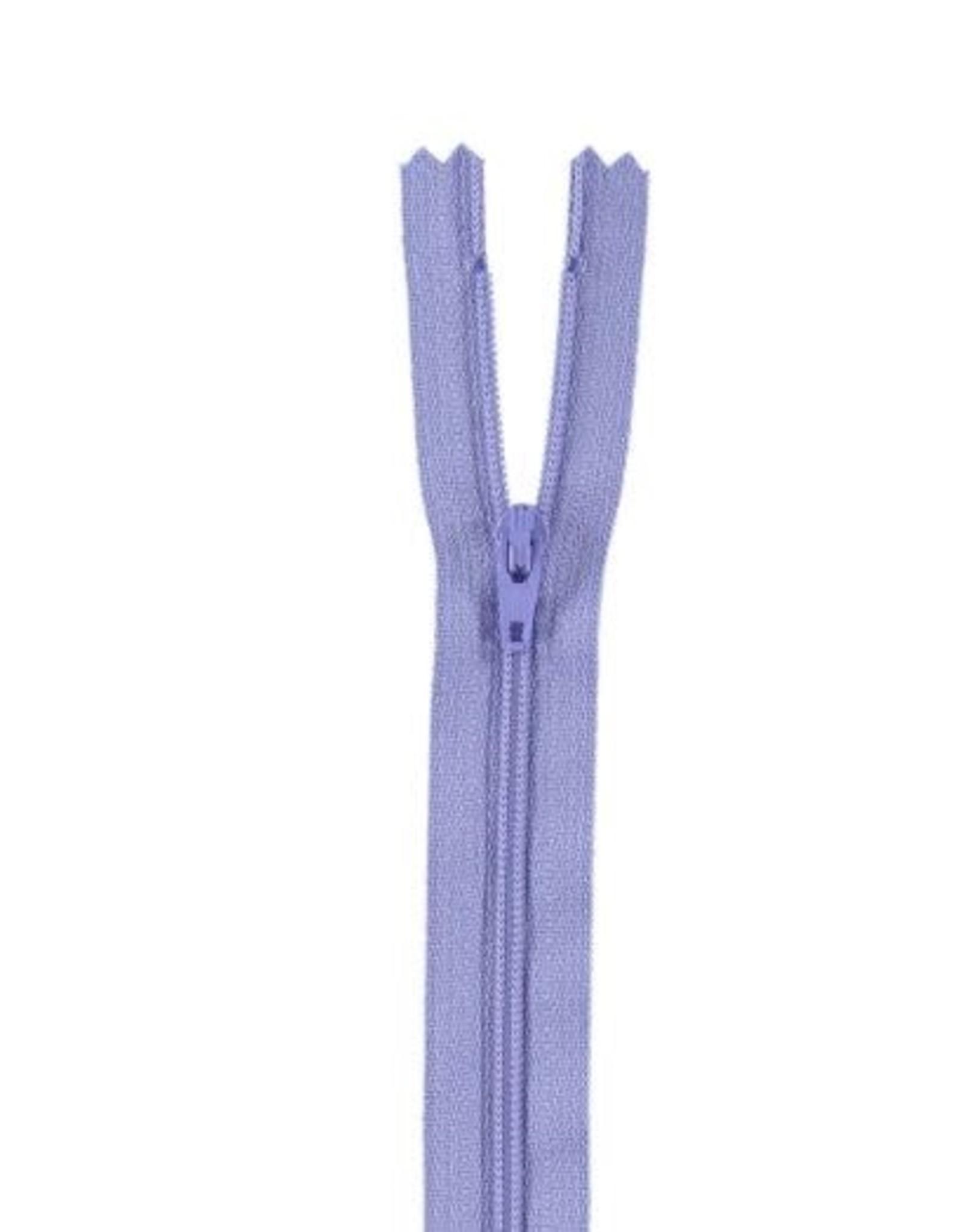 YKK Spiraalrits niet-DB 3mm blauwlila 554-15cm