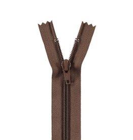 YKK Spiraalrits niet-DB 3mm bruin 568-12cm