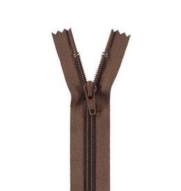 YKK Spiraalrits niet-DB 3mm bruin 568-35cm