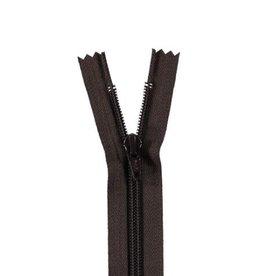 YKK Spiraalrits niet-DB 3mm donker bruin 570-18cm