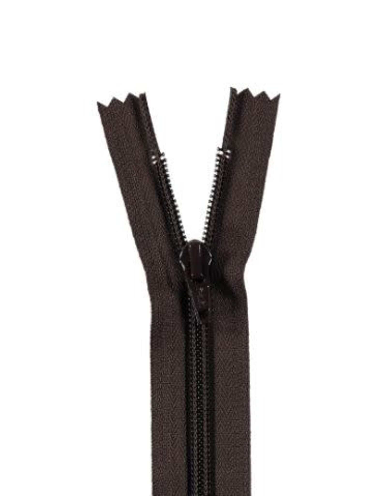 YKK Spiraalrits niet-DB 3mm donker bruin 570-35cm