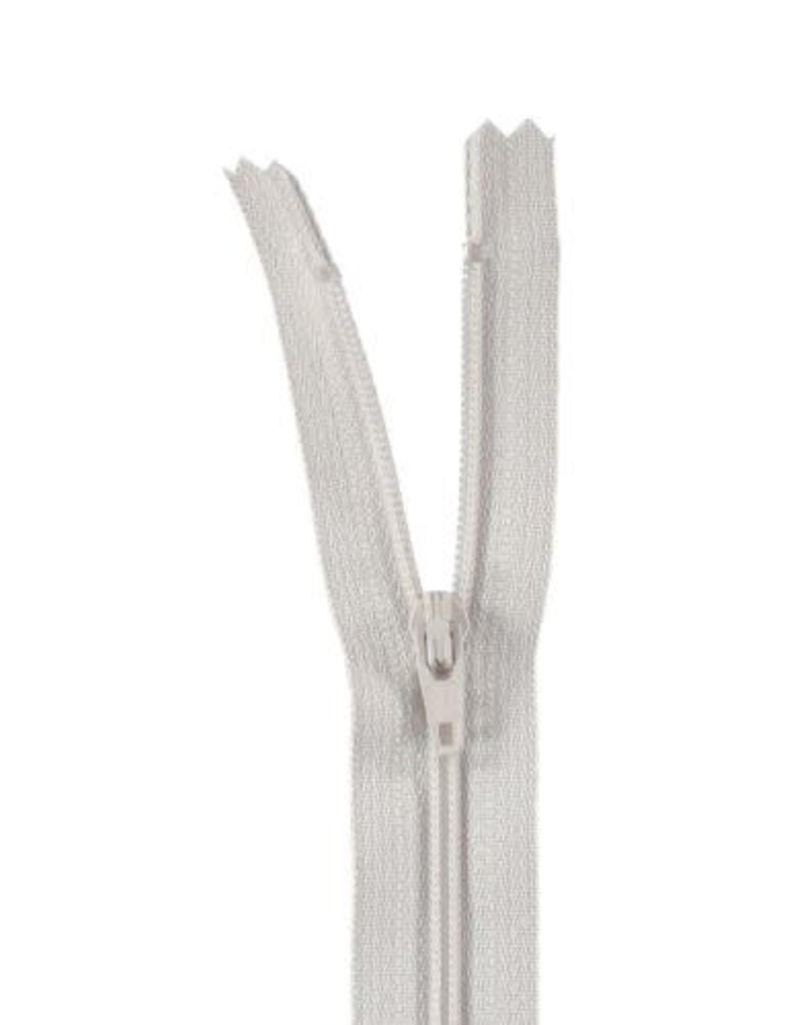 YKK Spiraalrits niet-DB 3mm licht grijs 574-30cm