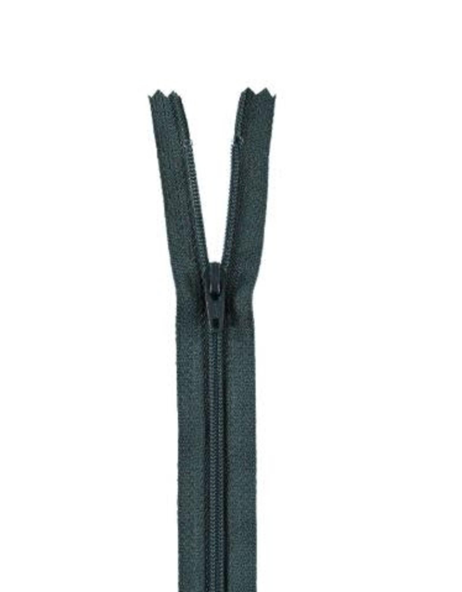 YKK Spiraalrits niet-DB 3mm grijsblauw 579-12cm