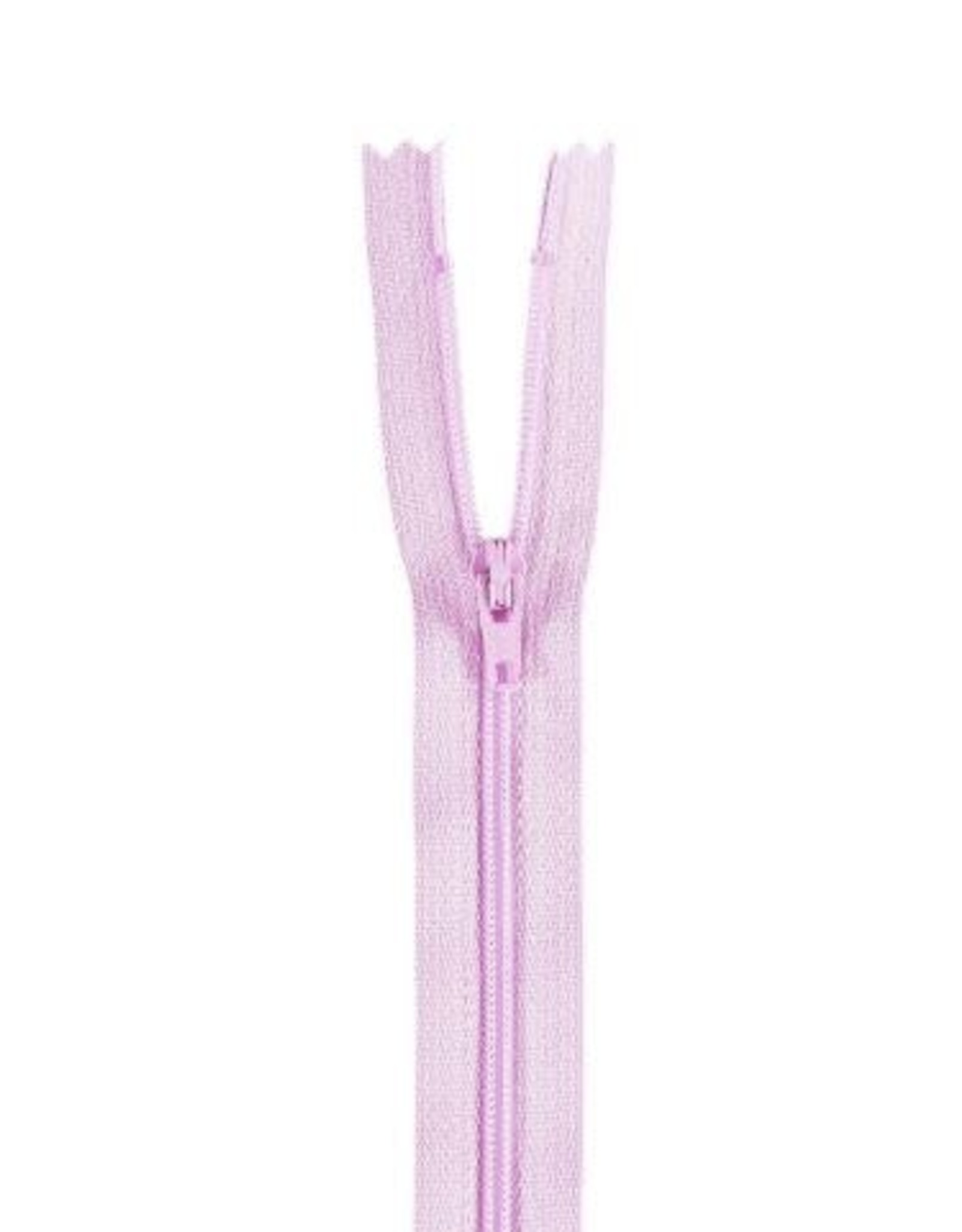 YKK Spiraalrits niet-DB 3mm licht roze paars 068-55cm