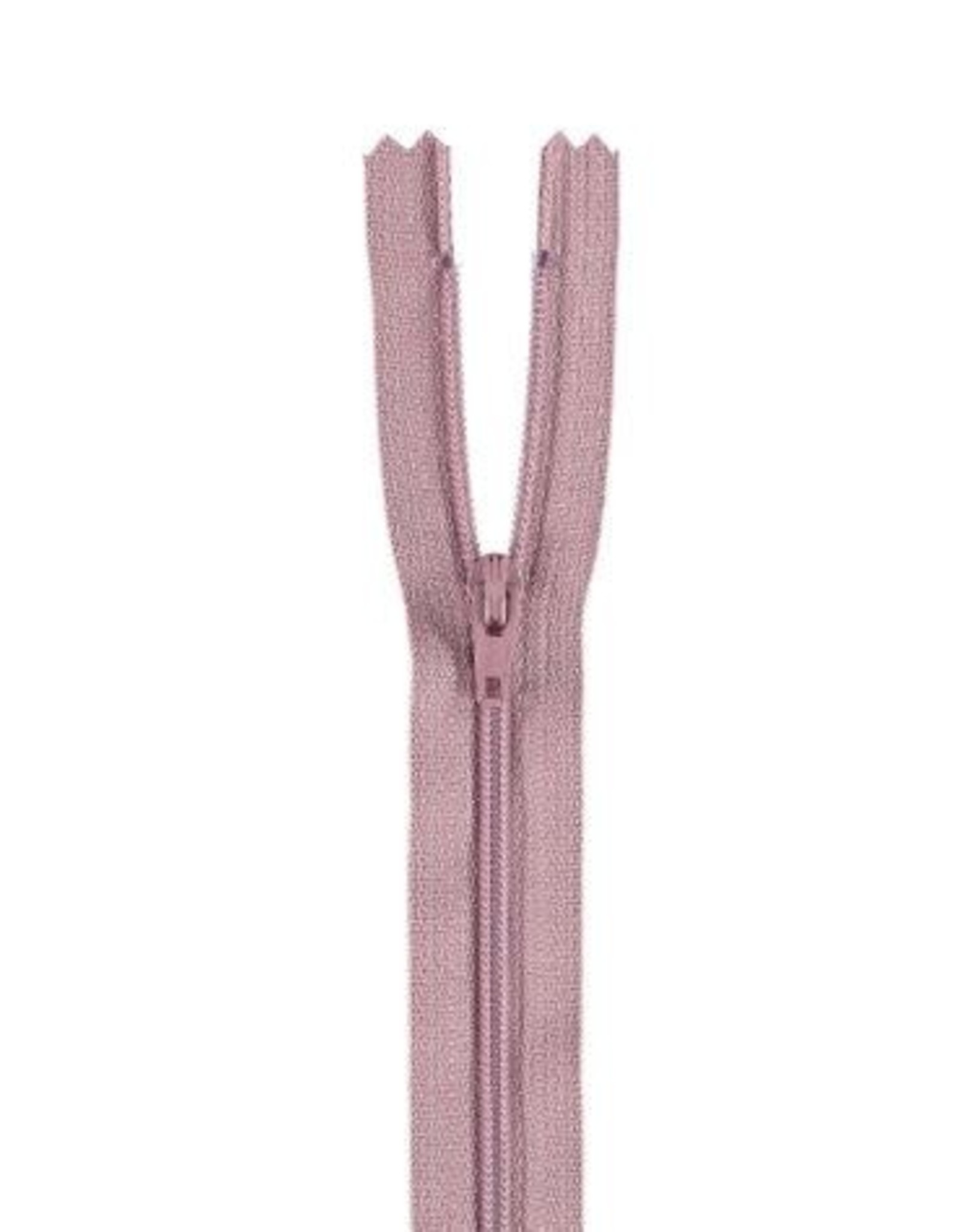 YKK Spiraalrits niet-DB 3mm oud roze 069-25cm