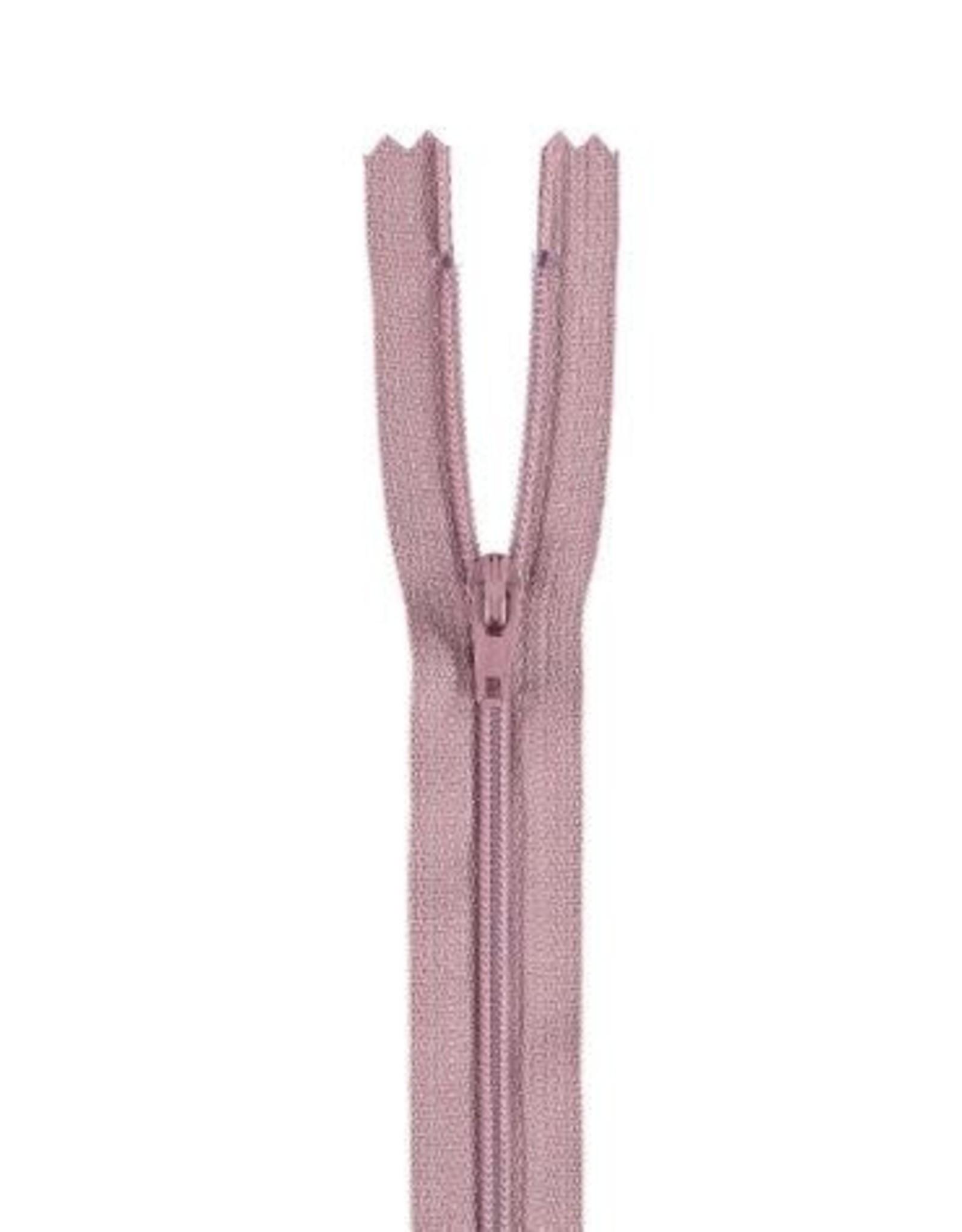 YKK Spiraalrits niet-DB 3mm oud roze 069-40cm