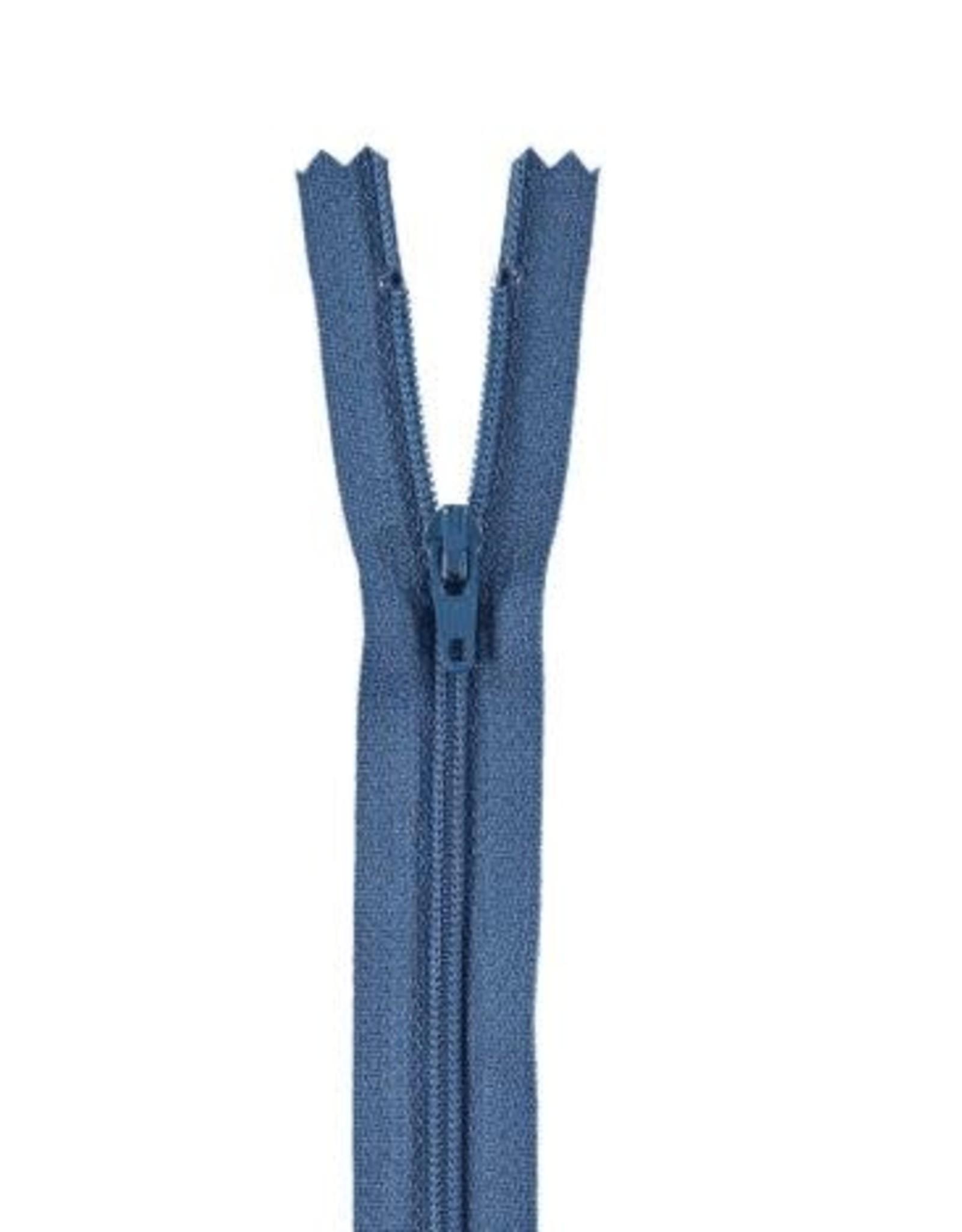 YKK Spiraalrits niet-DB 3mm jeansblauw 839-30cm