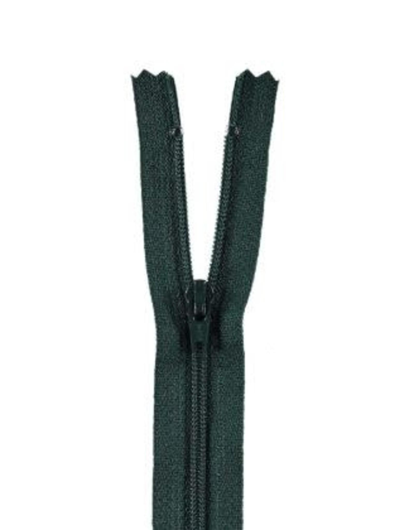 YKK Spiraalrits niet-DB 3mm donker groen 890-12cm