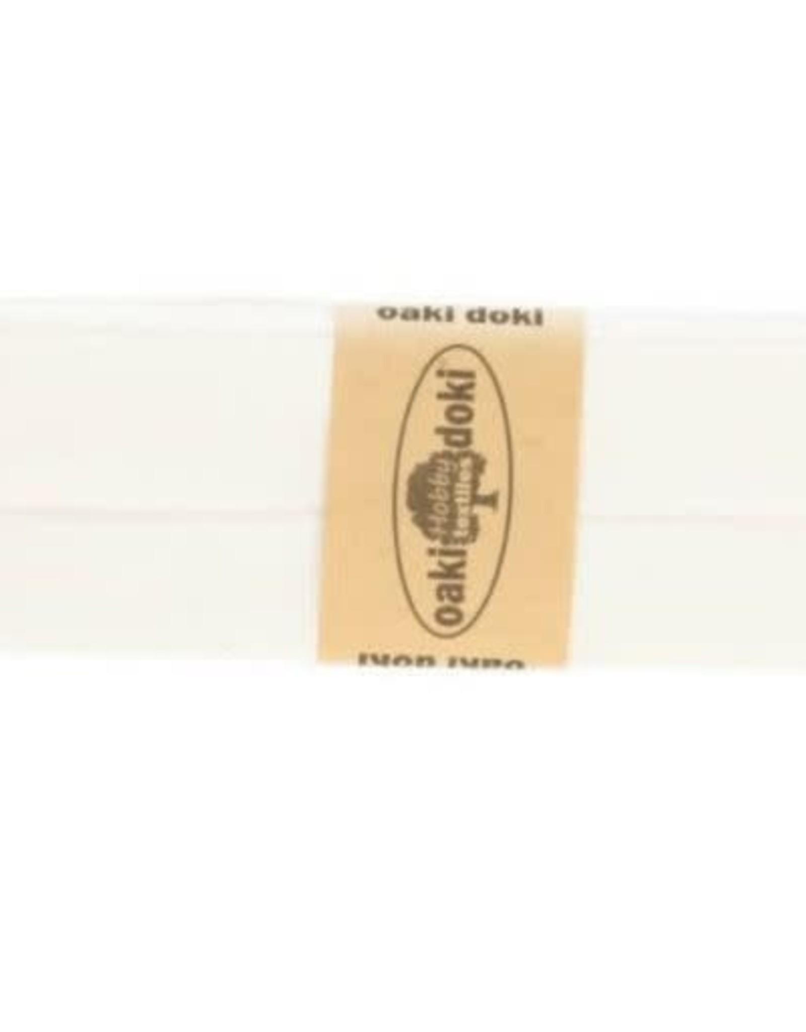 Biais tricot de luxe Oaki Doki creme 320