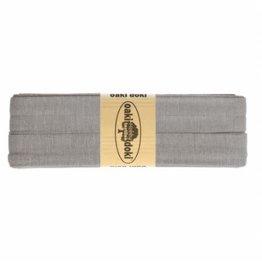Oaki Doki Biais tricot de luxe Oaki Doki grijs 026