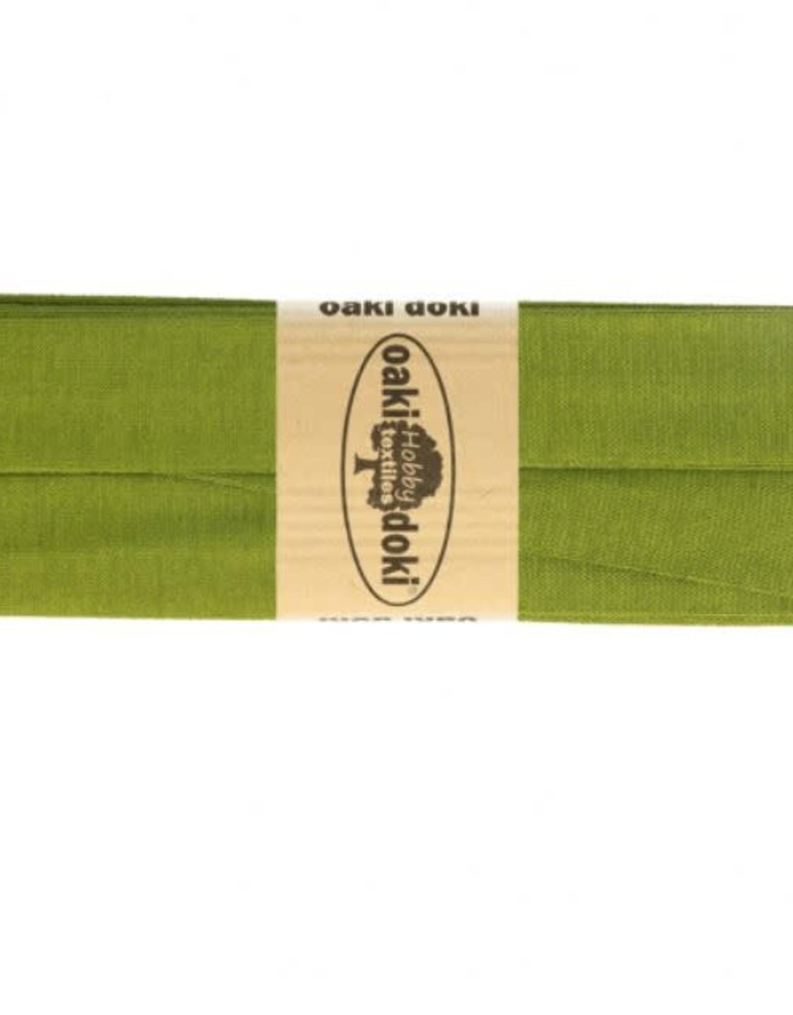Oaki Doki Biais tricot de luxe Oaki Doki mosgroen 430