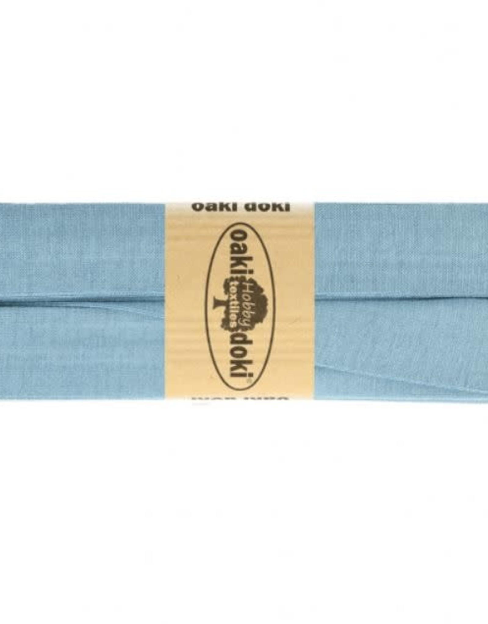 Biais tricot de luxe Oaki Doki licht jeans 003