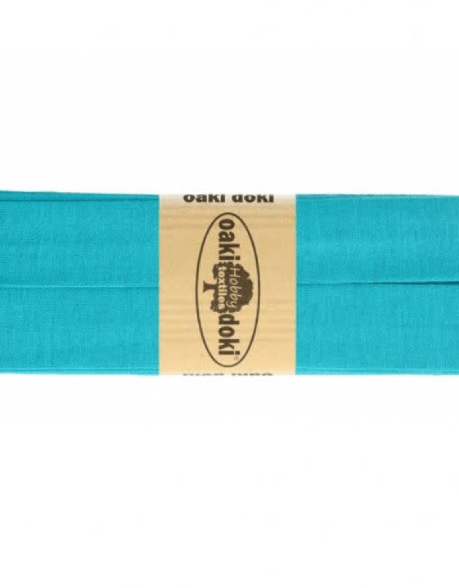 Oaki Doki Biais tricot de luxe Oaki Doki donker aqua 472