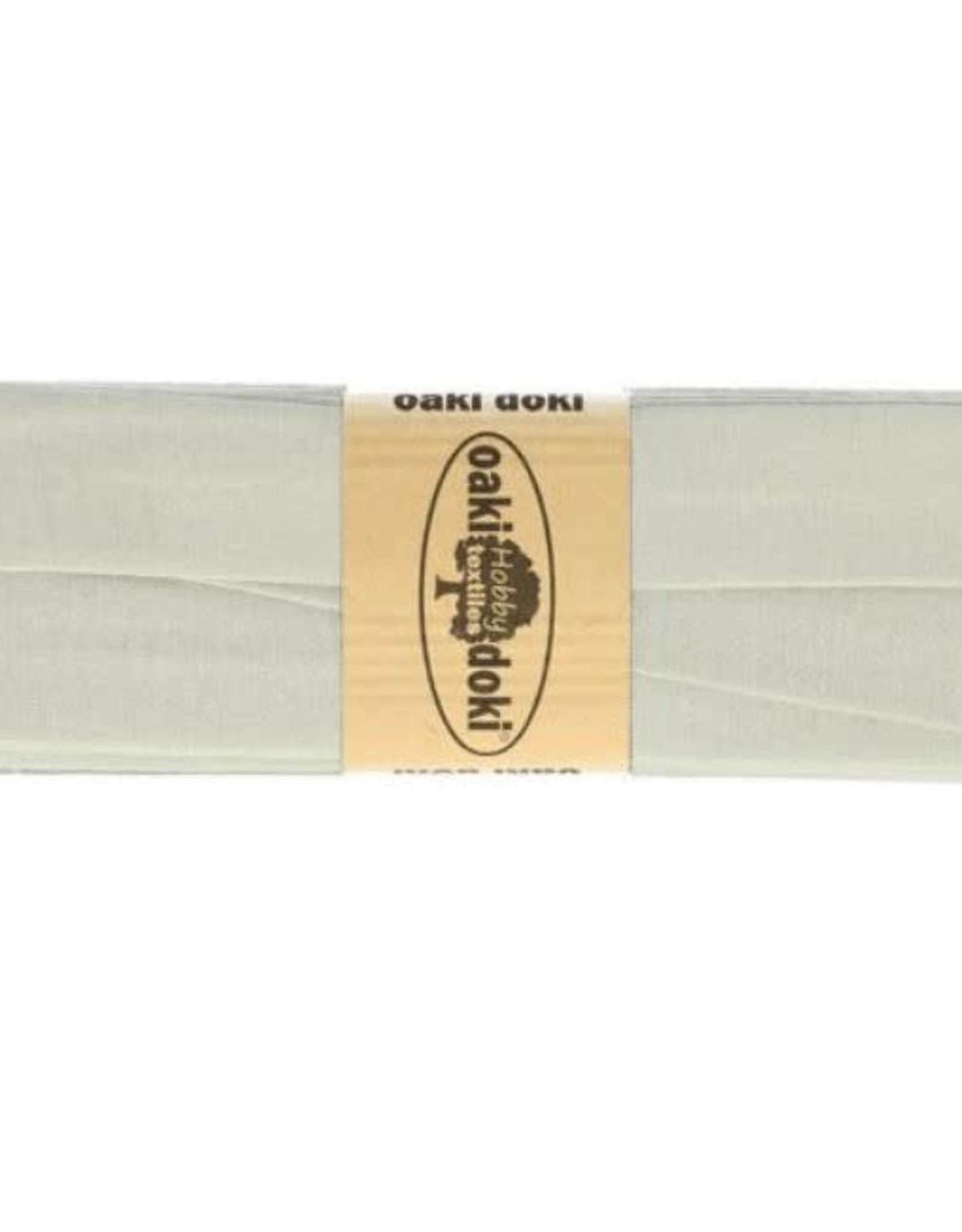 Oaki Doki Biais tricot de luxe Oaki Doki licht grijs 052