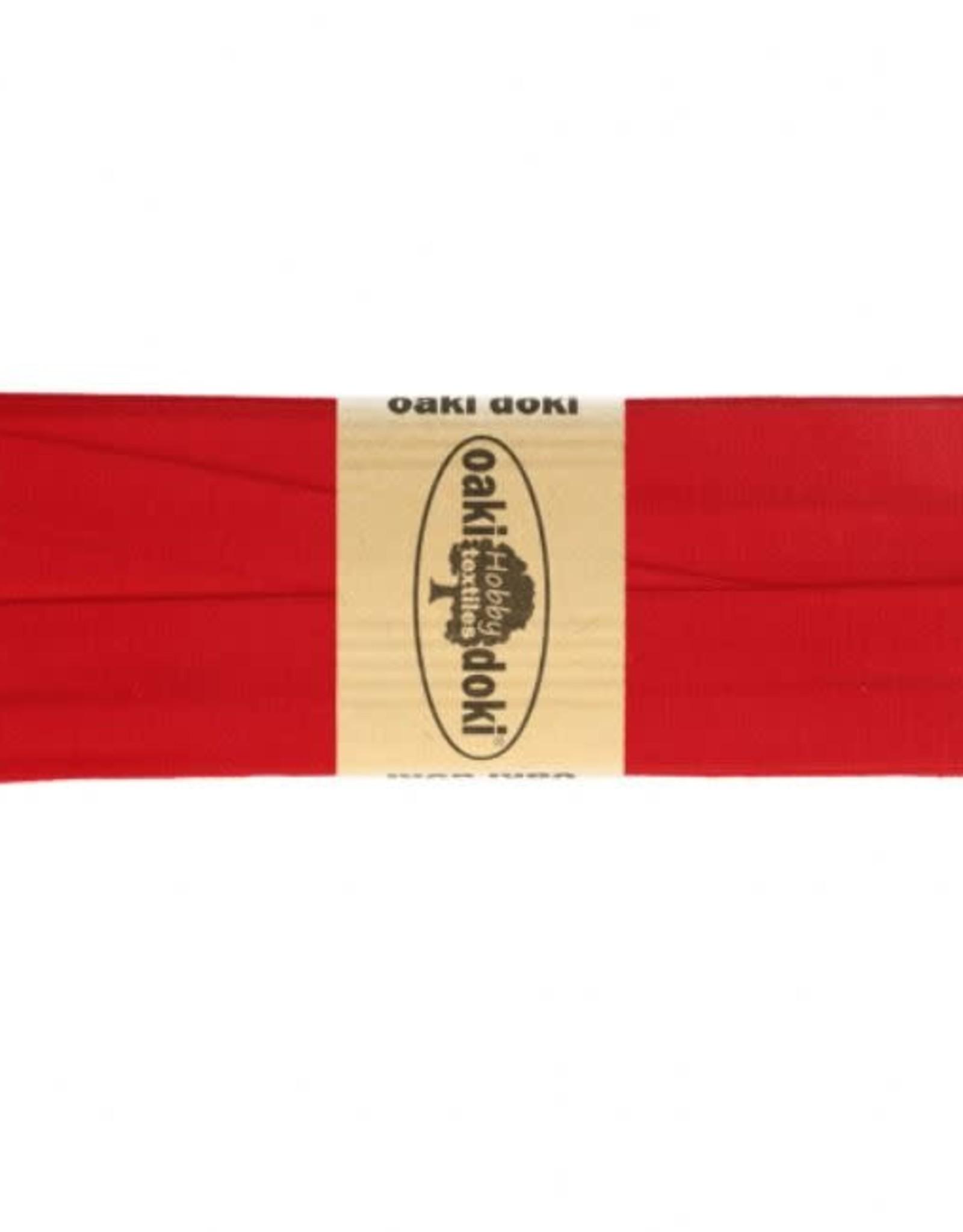 Oaki Doki Biais tricot de luxe Oaki Doki rood 620