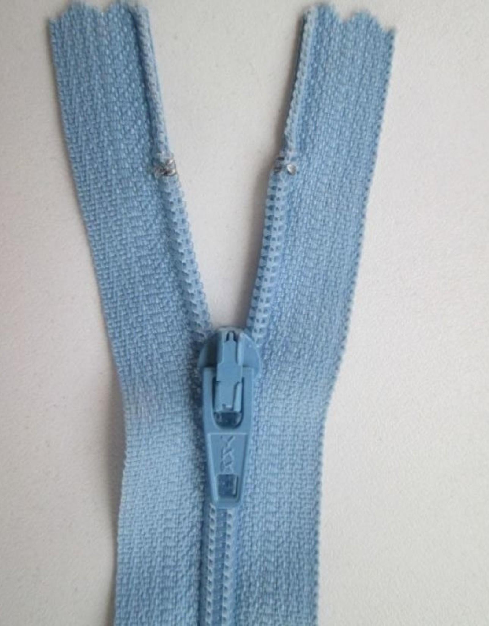 YKK Spiraalrits niet-DB 3mm midden blauw 546-22cm