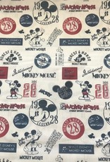 Cotton Mickey Mouse off white